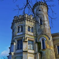 Башня Львовского дворца. :: Владимир Ильич Батарин