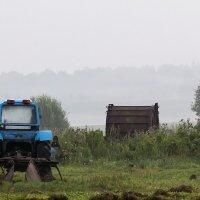 Утренний трактор :: Александр
