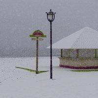 Снег на пляже. Из серии морские пейзажи. :: Эдуард Куклин