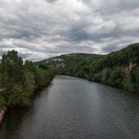 Река Ло.Перигор. Франция из окна автобуса :: Надежда Лаптева