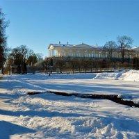 Зимний пейзаж с Камероновой галереей... :: Sergey Gordoff