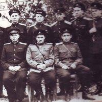 Офицеры. 1947 г. :: Нина Корешкова