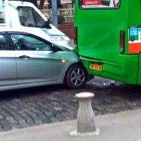 Реклама в автобусах... И такая иногда бывает... :: Александр Резуненко