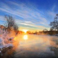 Морозный закат...4 :: Андрей Войцехов