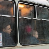 Утренний автобус :: Ольга Нарышкова