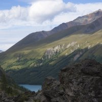 тени над озером :: liudmila drake
