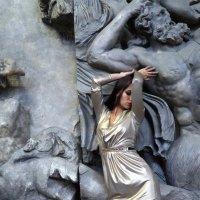 Люба и Пергамский алтарь :: Иван Миронов