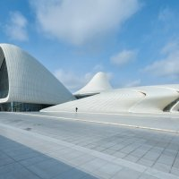 Культурный центр Гейдара Алиева в Баку. :: Ирина Токарева
