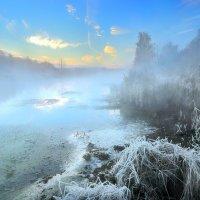 Морозный рассвет...3. :: Андрей Войцехов