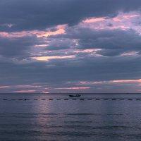 Закат.Адриатическое море.Черногория. :: Татьяна Калинкина