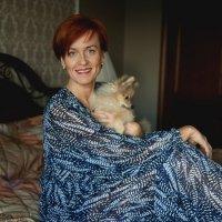 Автопортрет с собачкой) :: Elena