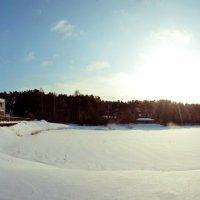Голубое озеро - зима :: Дмитрий Климович