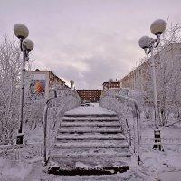 Зимний мостик :: Витас Бенета
