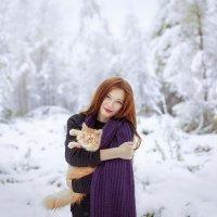 С котиком :: Екатерина Кареткина