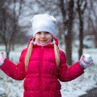 Снегопад :: Оксана Жданова