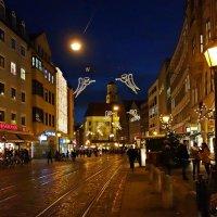 Augsburg - и вновь,над городом летают ангелы, оповещая о приближении Рождества... :: Galina Dzubina