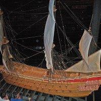 Средневековый корабль :: Виталий Селиванов