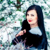 Зимний портрет :: Марина Алексеева
