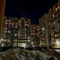 Огни львовского квартала в Стрельне. :: Владимир Ильич Батарин