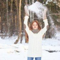 волшебство снега)) :: Виктория Кузьмичёва