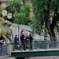 Охраняя банковский мост. :: Лара ***