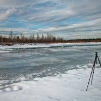 Пейзаж со штативом :: Евгений Карский