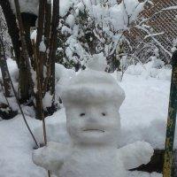 снеговичек :: Елена Константиниди