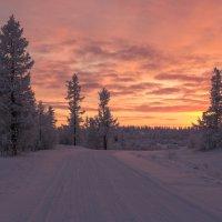 Пылающий закат.... :: Олег Кулябин