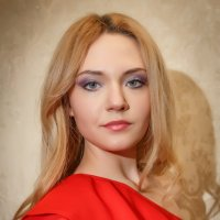 в красном :: Y Laskina