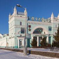 Смоленск. Здание железнодорожного вокзала :: Алексей Шаповалов Стерх