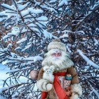 Святой Николай, или дедушка Мороз приходит в гости! :: Нина