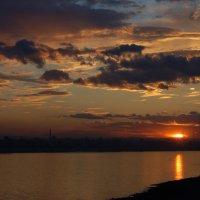 Закат над Амуром :: Константин Поляков