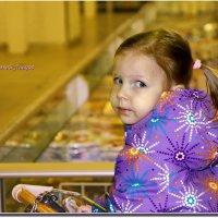 На тележке я в супермаркете. :: Anatol L