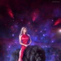 Black lion :: Irina Safronova