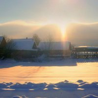Зимнее солнце, волшебное солнце.... :: Павлова Татьяна Павлова