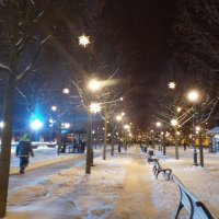 Зимний город. :: Марина Харченкова