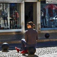 девушка на шаре :: Mila Romans