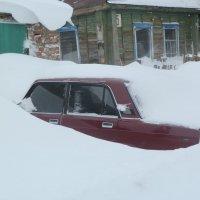 Ночью прошел снег.... :: Прима Игорь Кондратьевич