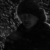 Ночь. Метель. :: Дмитрий Сиялов