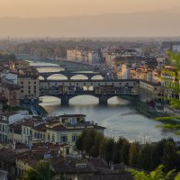 Autumn evening in Florence :: Dmitry Ozersky