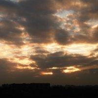 Солнце закрыли тучи :: татьяна