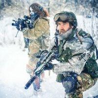 Снежный десант :: Виктор Седов