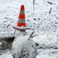 Авторский снеговик :: Сергей Рубан