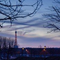 Закат в Париже :: Наталия
