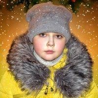 Новогодняя открыточка для внучки. :: Анатолий. Chesnavik.