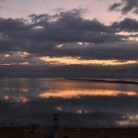 Вид на берег Иордании утром в январе :: Сергей К