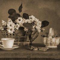 Натюрморт с хризантемами. :: Альмира Юсупова