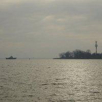 Пасмурным ноябрьским днём на побережье Балтийска :: Маргарита Батырева