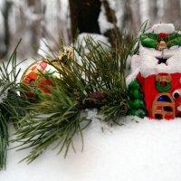 У домика деда Мороза :: Андрей Заломленков