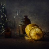 С лимоном... :: Анна Корсакова